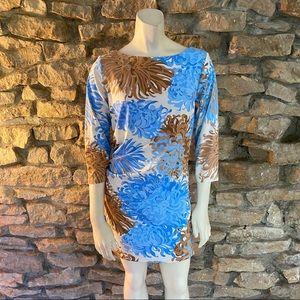 J.McLaughlin 3-4 Sleeve Knit Dress Size Medium